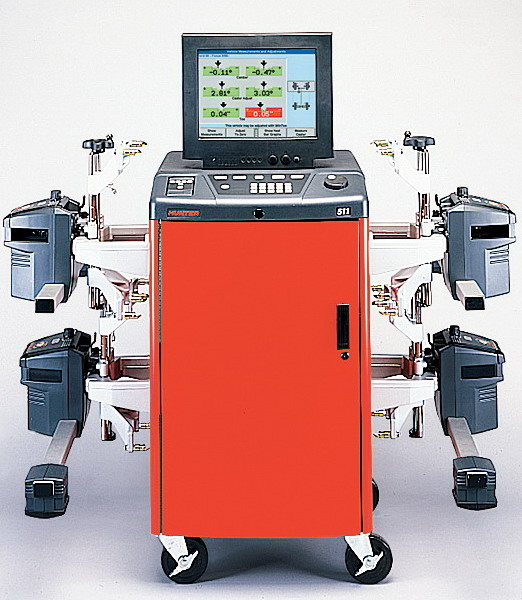 Bmwparison: Hunter Wheel Alignment Machine Parts